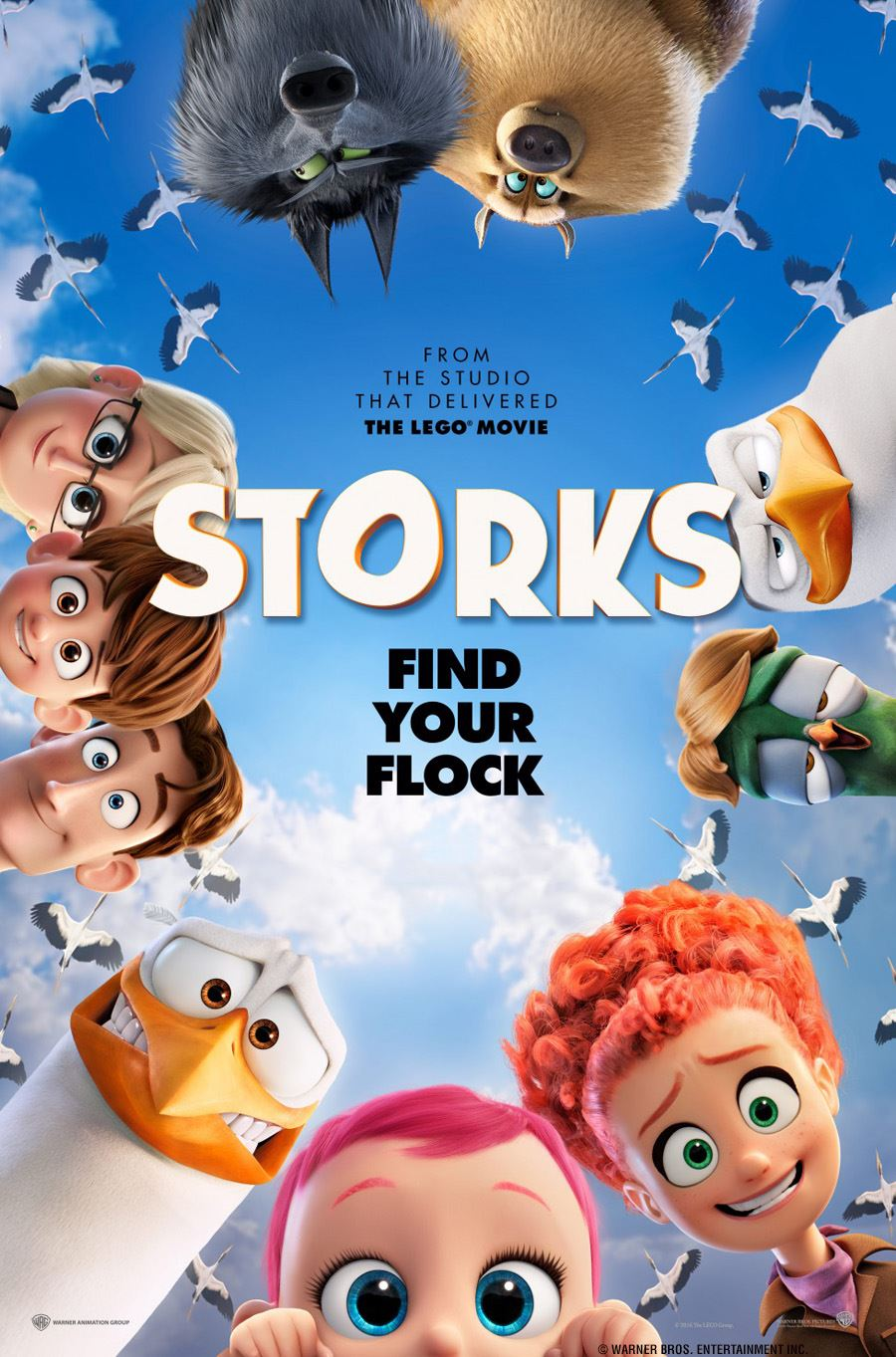 September Movie Storks