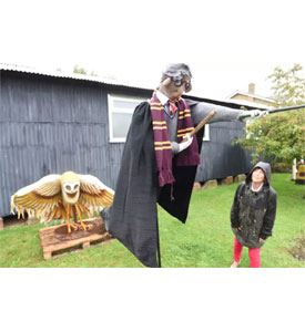 Scarecrow Harry Potter