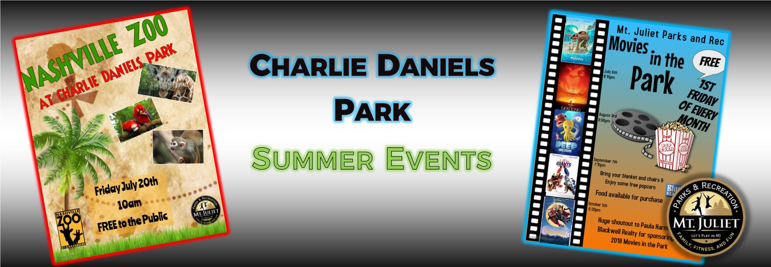 Summer events banner 2